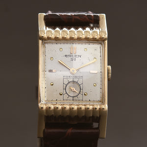 1950 GRUEN USA '21' Precision Gents Dress Watch 335-700