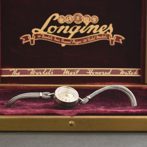 1967 LONGINES Vintage Ladies Cocktail Watch w/Box