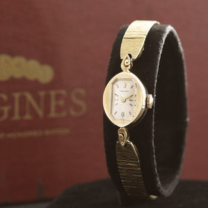 1967 LONGINES 14K Solid Gold Vintage Ladies Cocktail Watch w/Box