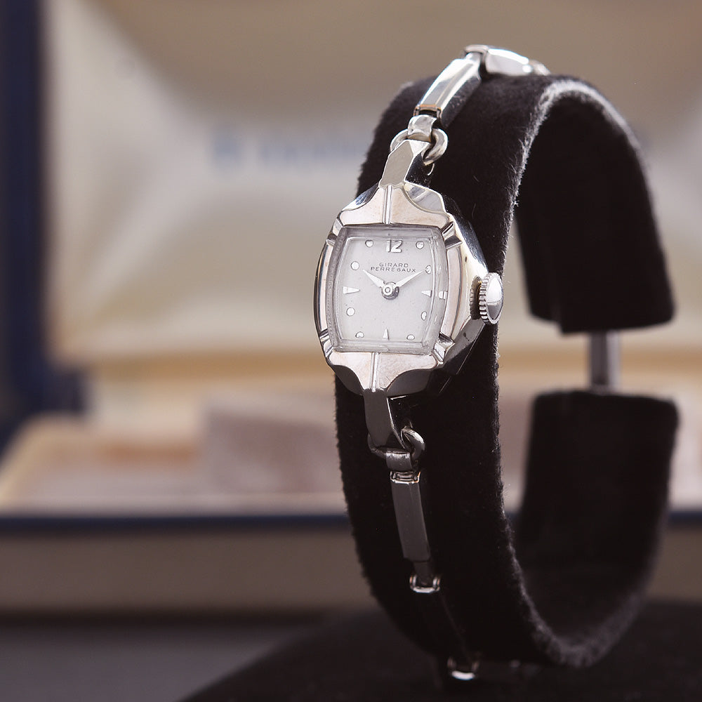 50s GIRARD-PERREGAUX Ladies Vintage Cocktail Watch w/Box