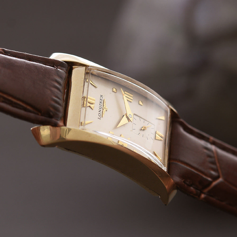 1956 LONGINES Gents Vintage 'Hourglass' Dress Watch