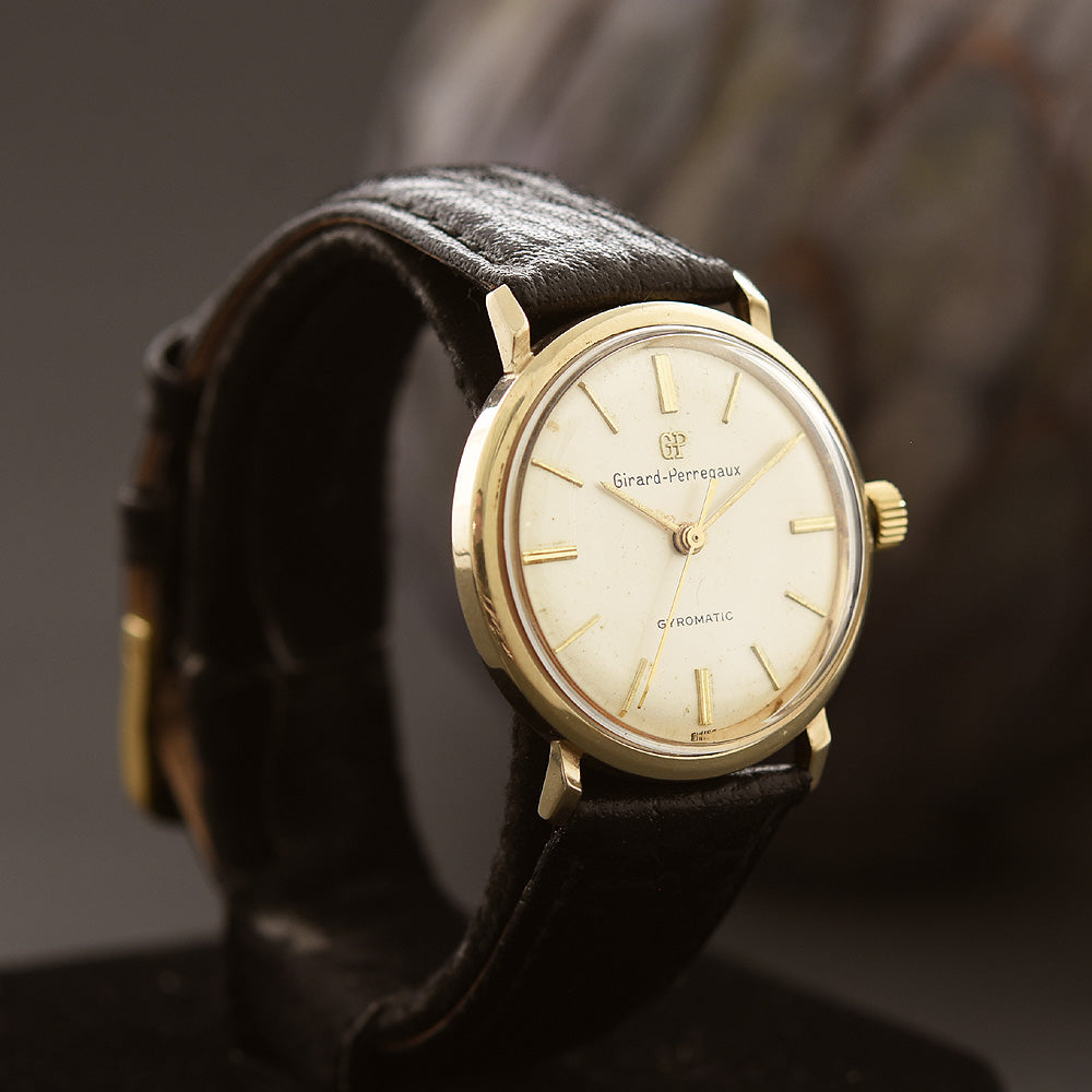 60s GIRARD-PERREGAUX Gyromatic Gents Dress Watch
