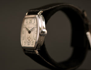 20s BULOVA 'Banker' Gents Art Deco Swiss Watch