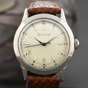 1954 BULOVA 'Phantom A' Slim Vintage Gents Swiss Watch