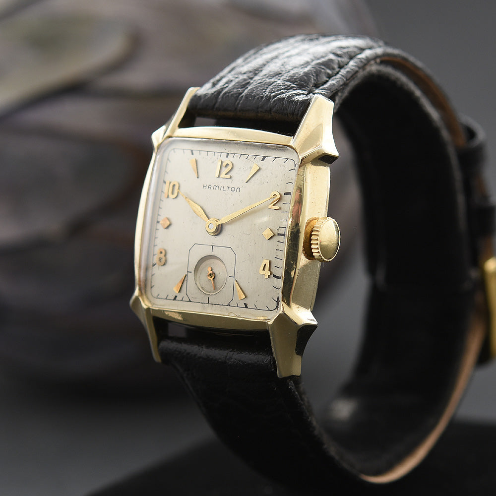 1957 HAMILTON USA 'Dixon' Gents Vintage Dress Watch
