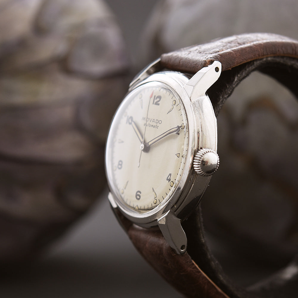 40s MOVADO Bumper Automatic Gents Vintage Swiss Watch