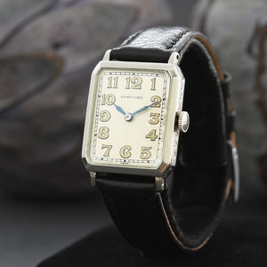 1926 LONGINES Gents Art Deco Octagon Watch