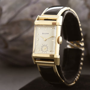 1948 BULOVA USA 'Duncan' 14K Solid Gold Gents Vintage Watch