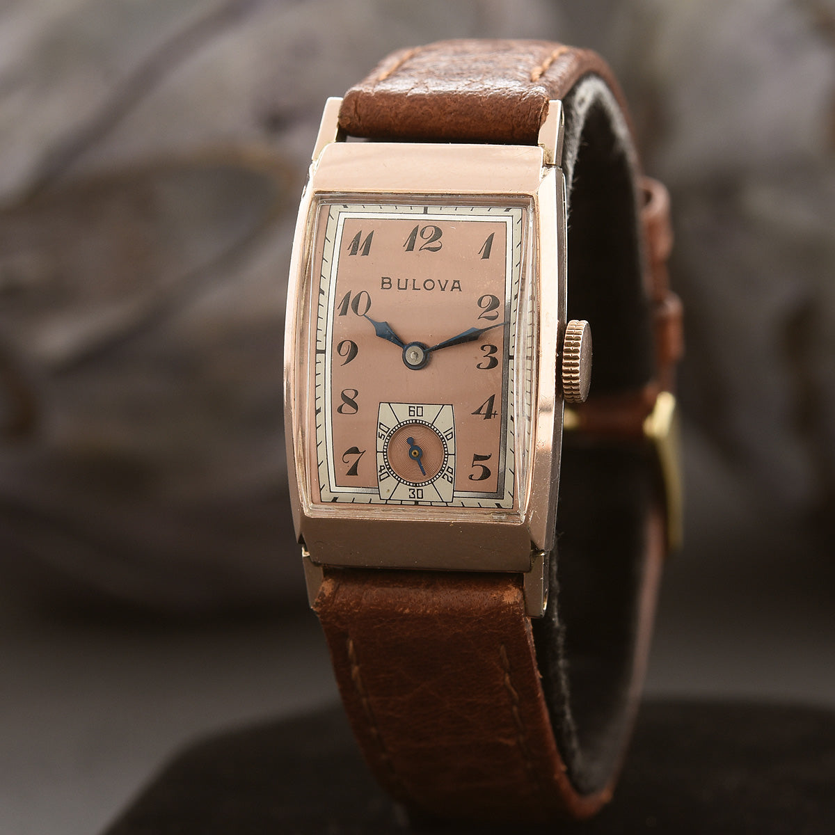 1942 BULOVA USA 'Lincoln' Gents Dress Vintage Watch