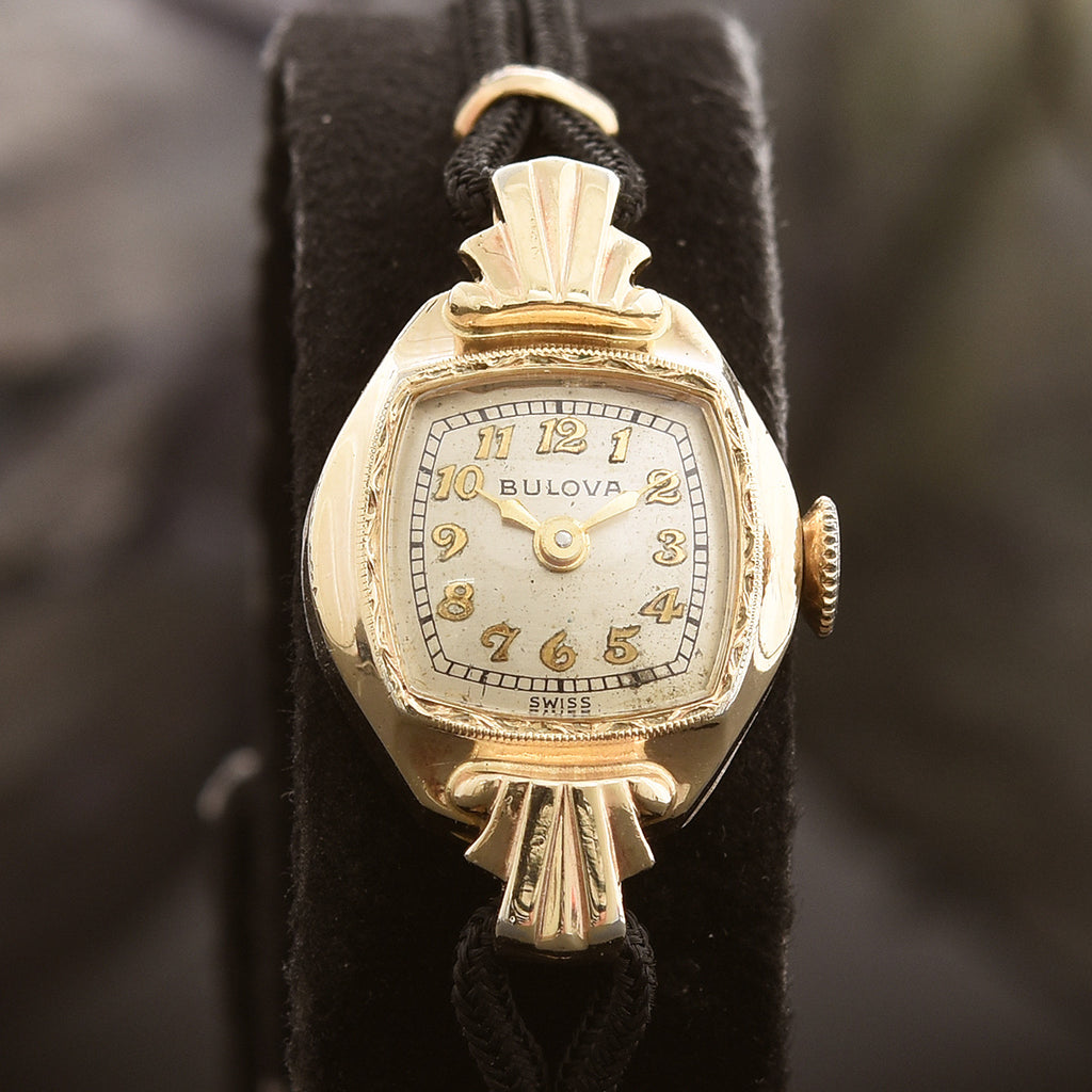 1946 BULOVA 'Eleanor' Ladies Swiss Cocktail Watch