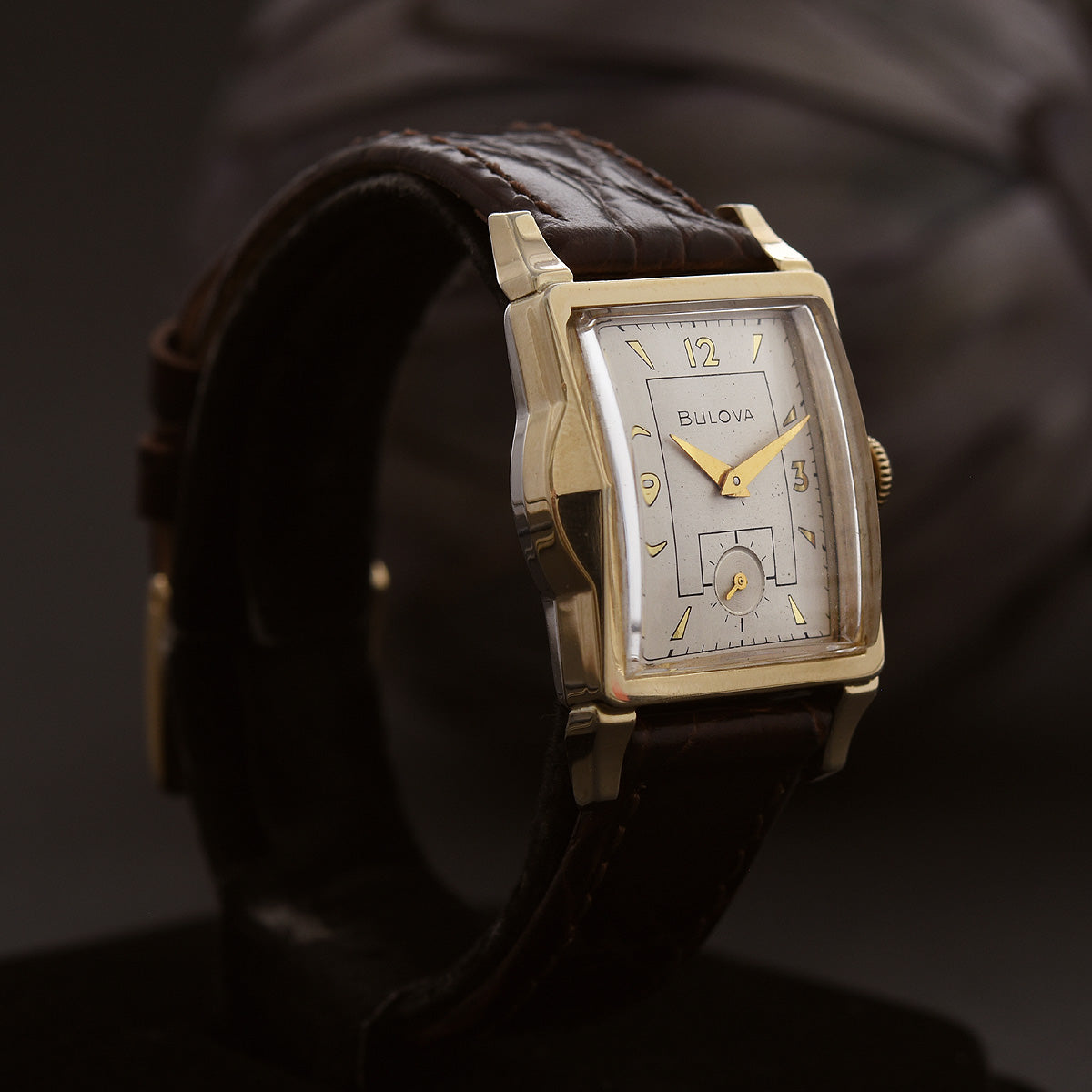 1954 BULOVA 'Ambassador C' Vintage Gents Dress Watch