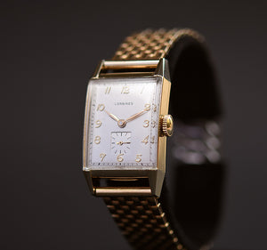 1948 LONGINES Gents 14K Solid Gold Vintage Watch