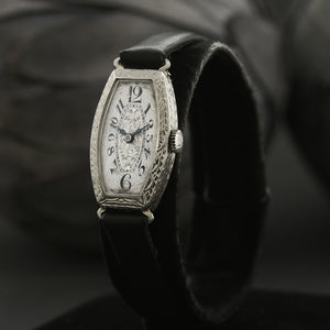 20s WILKA Ladies Art Deco 14K Gold Watch