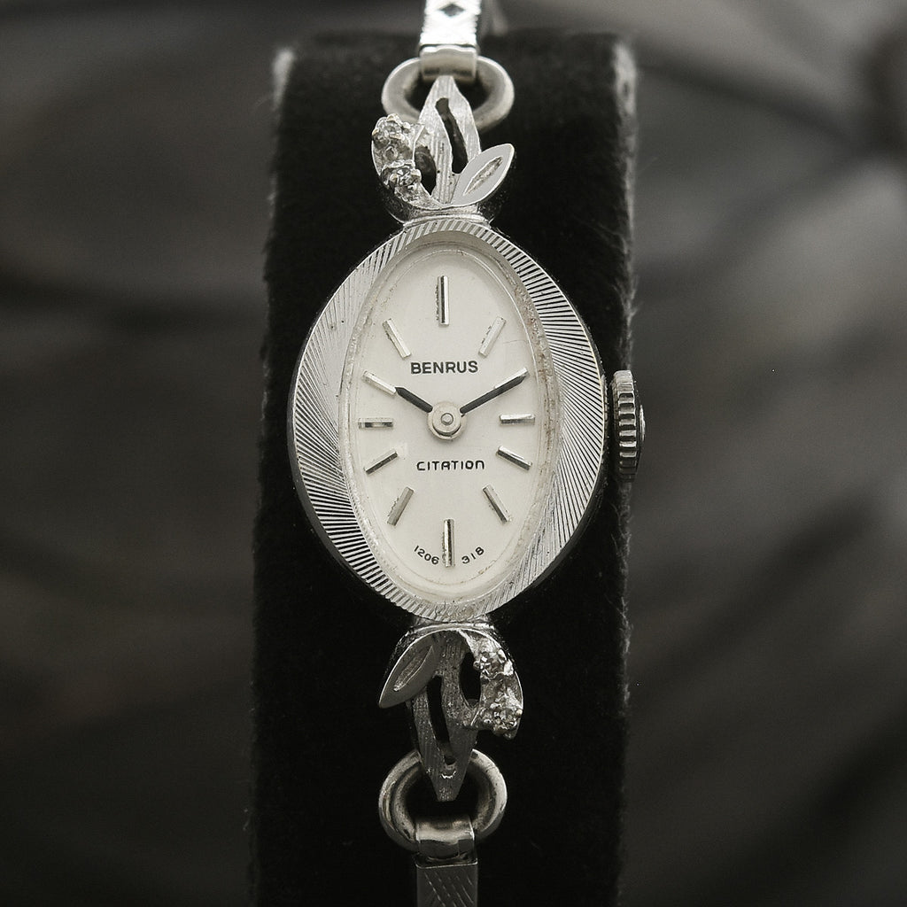 60s BENRUS Citation Ladies Florentine Cocktail Watch