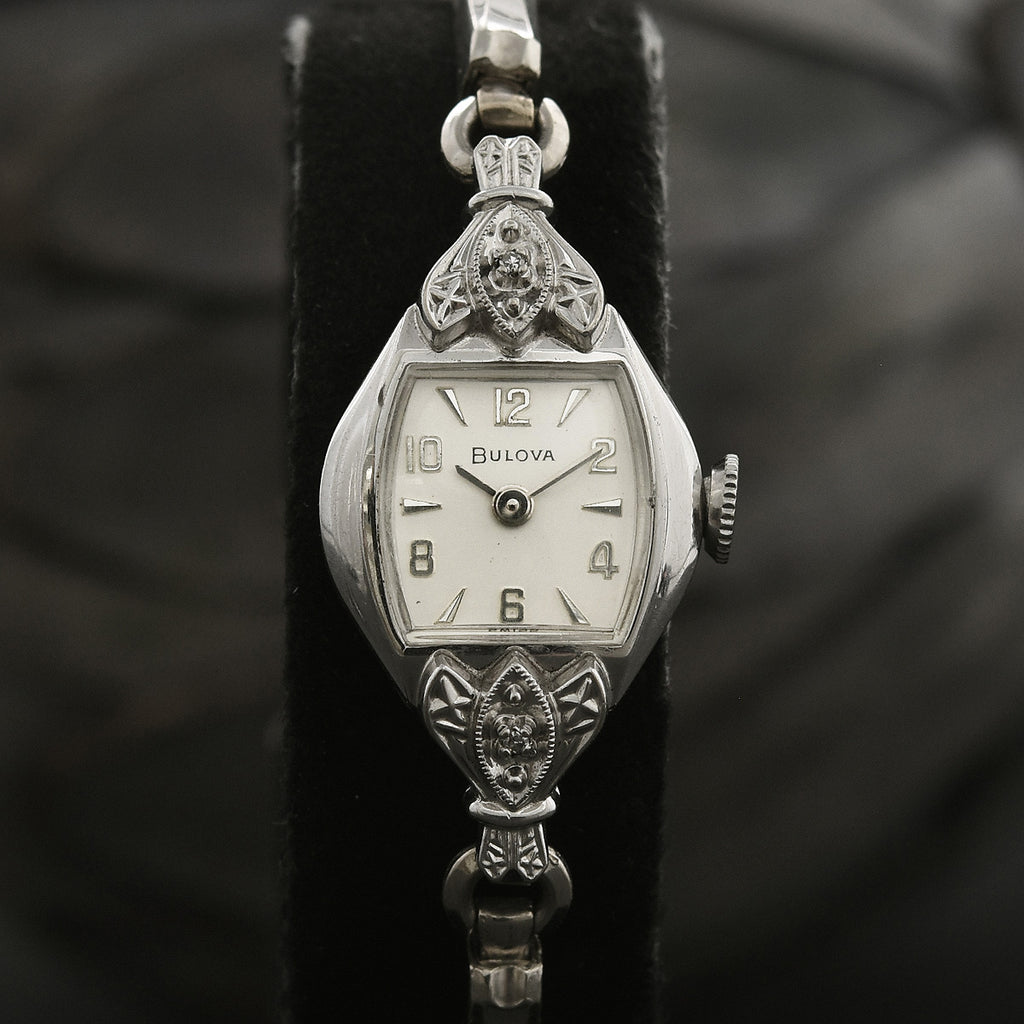 1962 BULOVA 'Diamond Dream' Ladies Swiss Cocktail Watch