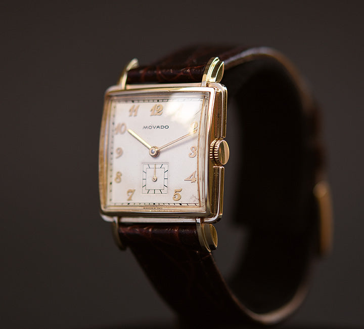 40s MOVADO Gents Vintage Dress Watch