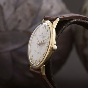 1962 HAMILTON T-200 Automatic Thin-O-Matic 14K Gold Swiss Vintage Watch
