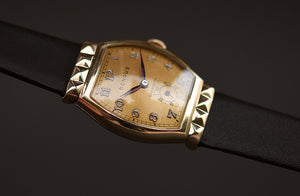 40s BENRUS Gents Deco Swiss Watch