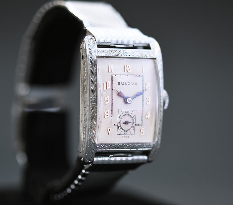 1930 BULOVA 'President' Gents Art Deco Watch