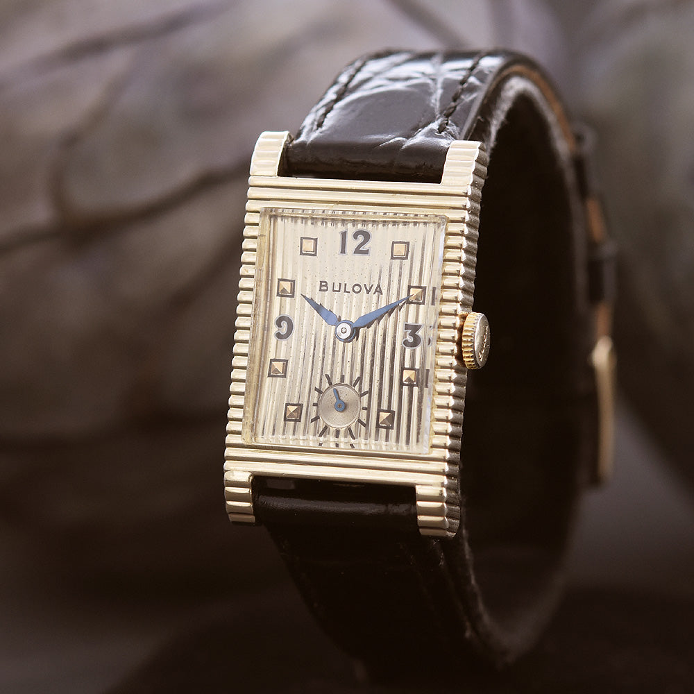 1950 BULOVA USA 'Academy Award W' Vintage Gents Dress Watch