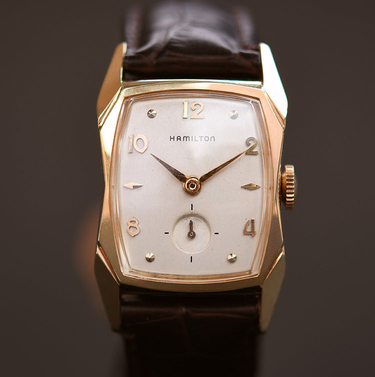 1956 HAMILTON USA 'Brewster' Gents Vintage Watch