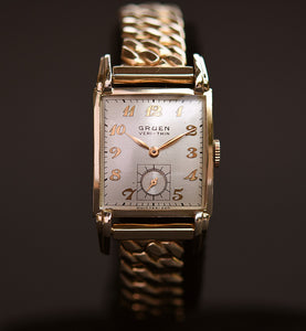 1945 GRUEN Veri-Thin Gents Dress Watch