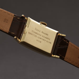 1950 HAMILTON USA 'Brock' 14K Gold Gents Dress Watch