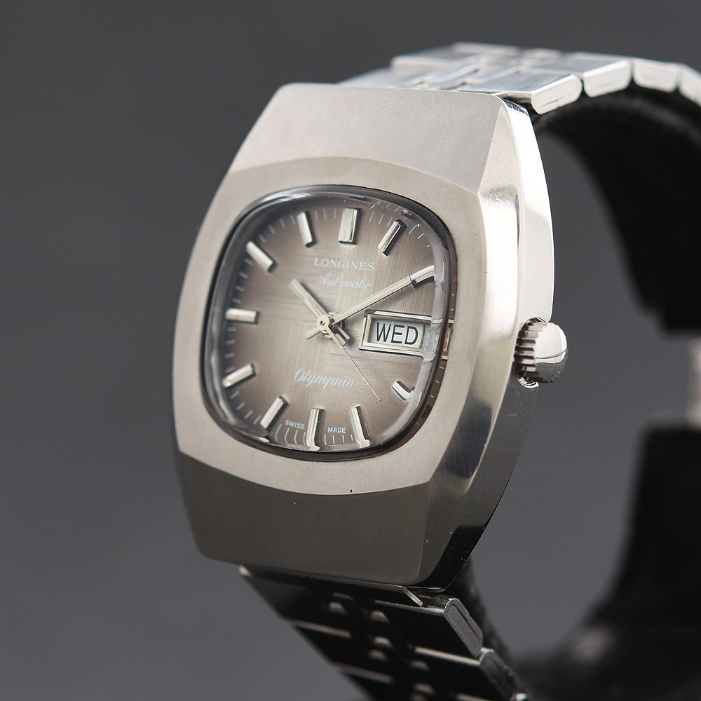 70s LONGINES 'Olympian' Automatic Day/Date Gents Watch