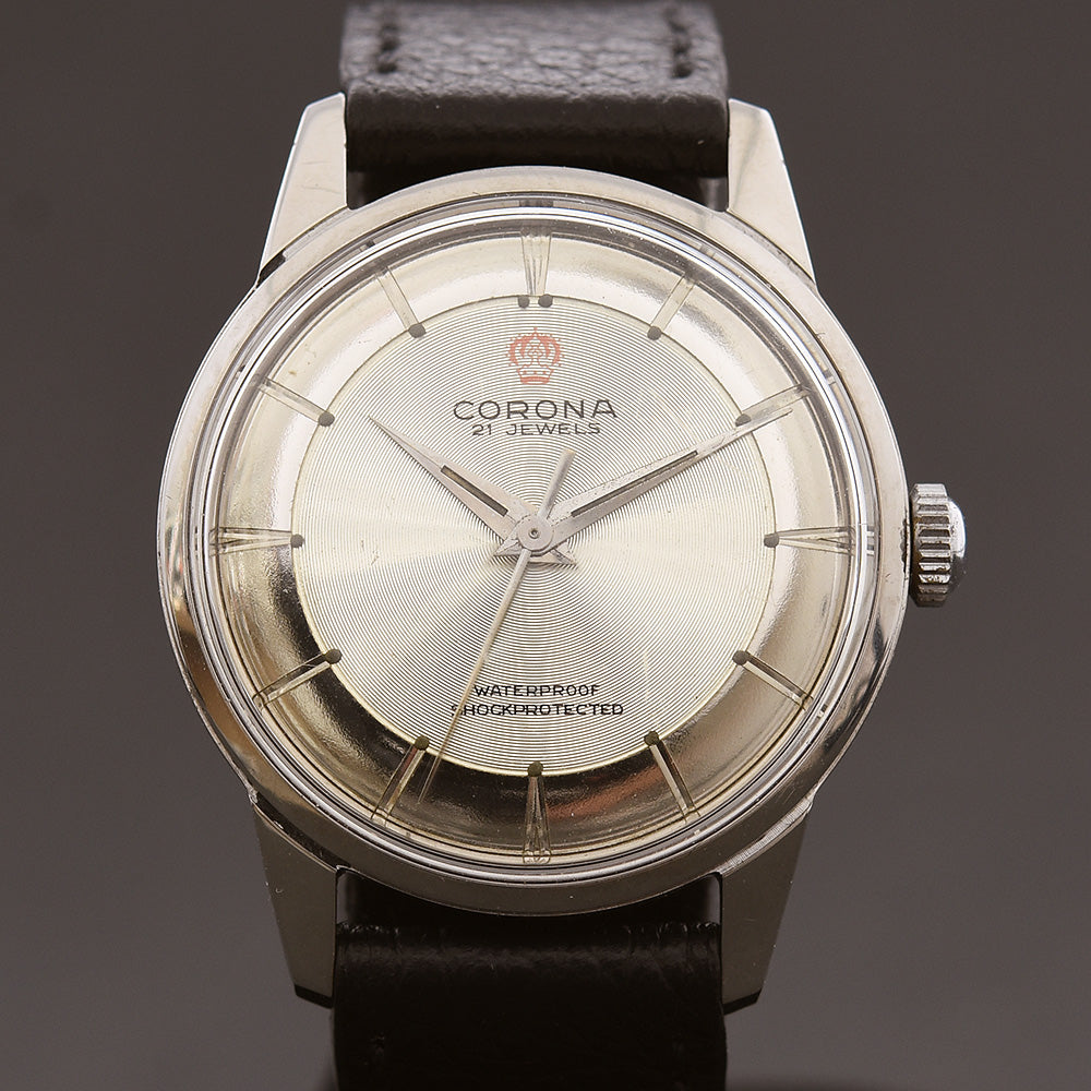 50s CORONA Classic Gents Swiss Watch