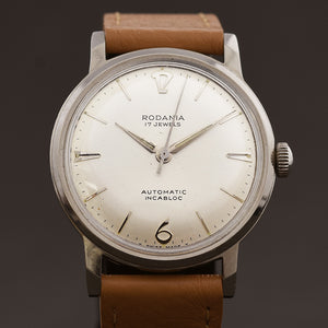 50s RODANIA Automatic Classic Gents Swiss Watch