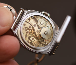 1931 BULOVA 'Trojan' Gents Art Deco Watch