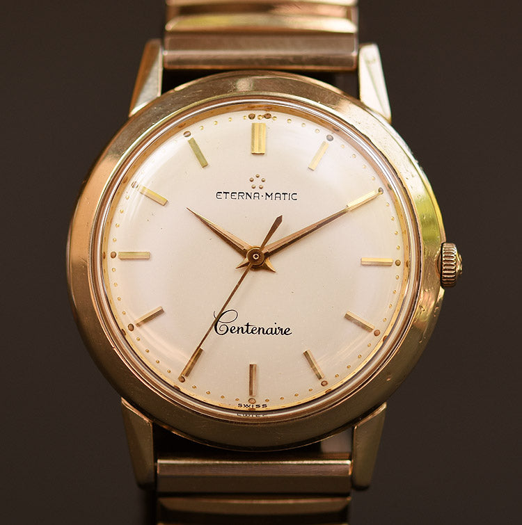 50s ETERNA Eternamatic Centenaire Gents Watch