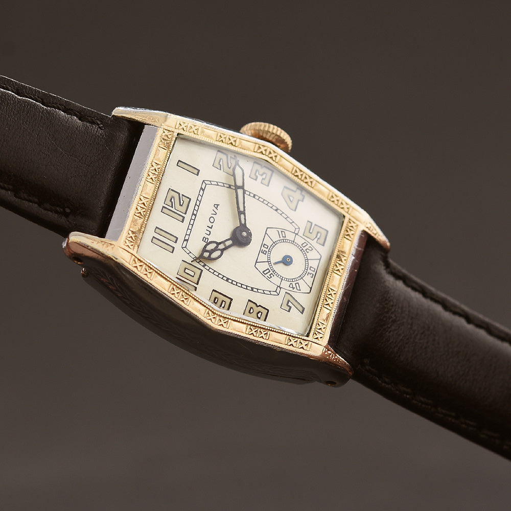 1931 BULOVA 'Sky King' Gents Art Deco Watch