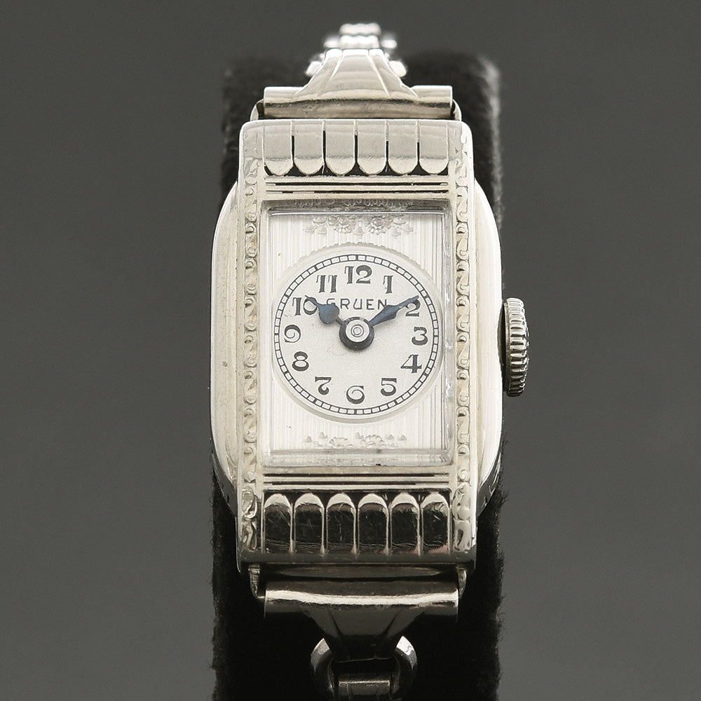 20s GRUEN Ladies Art Deco Vintage Watch 0S-63