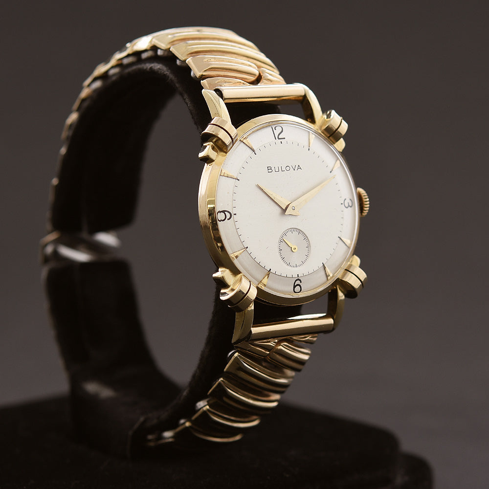 1950 BULOVA USA 'Ashford' Vintage Gents Dress Watch