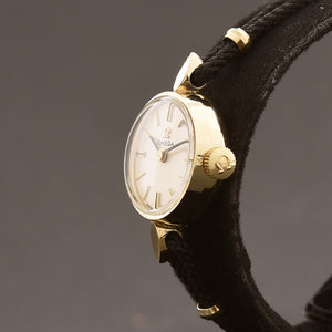 1976 OMEGA Ladies 14K Gold Cocktail Watch H-5779