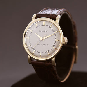 1952 BULOVA 'Ultimatic' 14K Solid Gold Gents Vintage Watch