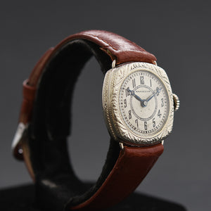 1926 HAMILTON USA 'Cushion' Ladies Art Deco Watch