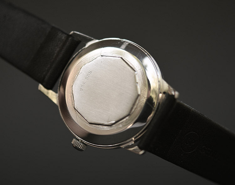50s MOVADO Automatic Date Gents Vintage Watch