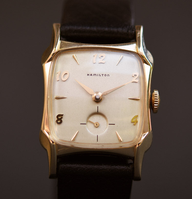 1955 HAMILTON USA 'Tyrone' Gents Vintage Watch