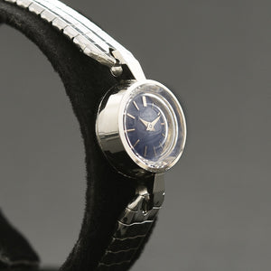 60s GIRARD PERREGAUX Ladies Swiss 18K Gold Backwind Watch