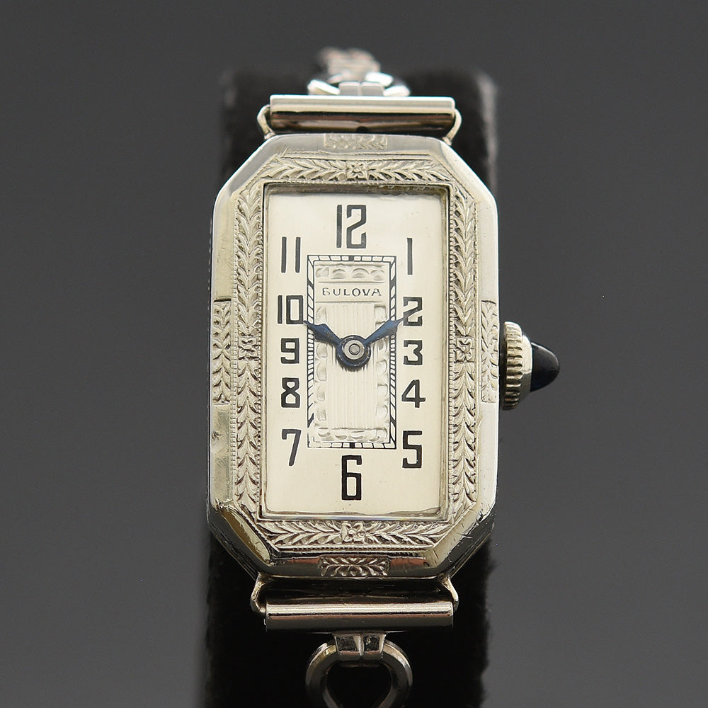 1928 BULOVA 'Baroness' Ladies Art Deco Watch