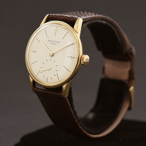1951 PATEK PHILIPPE Ref. 2494 Vintage Gents 18K Gold Dress Watch