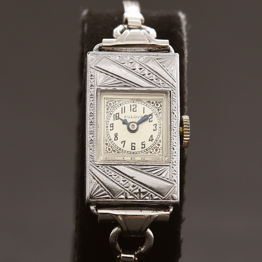 1929 BULOVA 'Lucile' Ladies Art Deco Watch