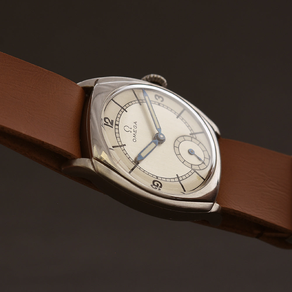 1935 OMEGA Gents Classic 'Aviator' Swiss Watch