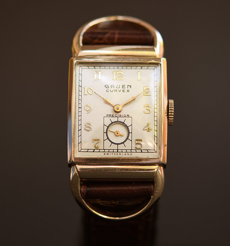 1940 GRUEN Curvex Gents Driver's Watch
