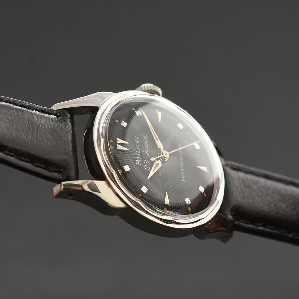 1956 BULOVA USA 23 Jewels Selfwinding Automatic Gents Dress Watch