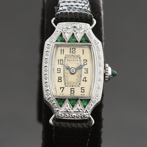 1929 BULOVA 'Miss Liberty' Ladies Art Deco Watch