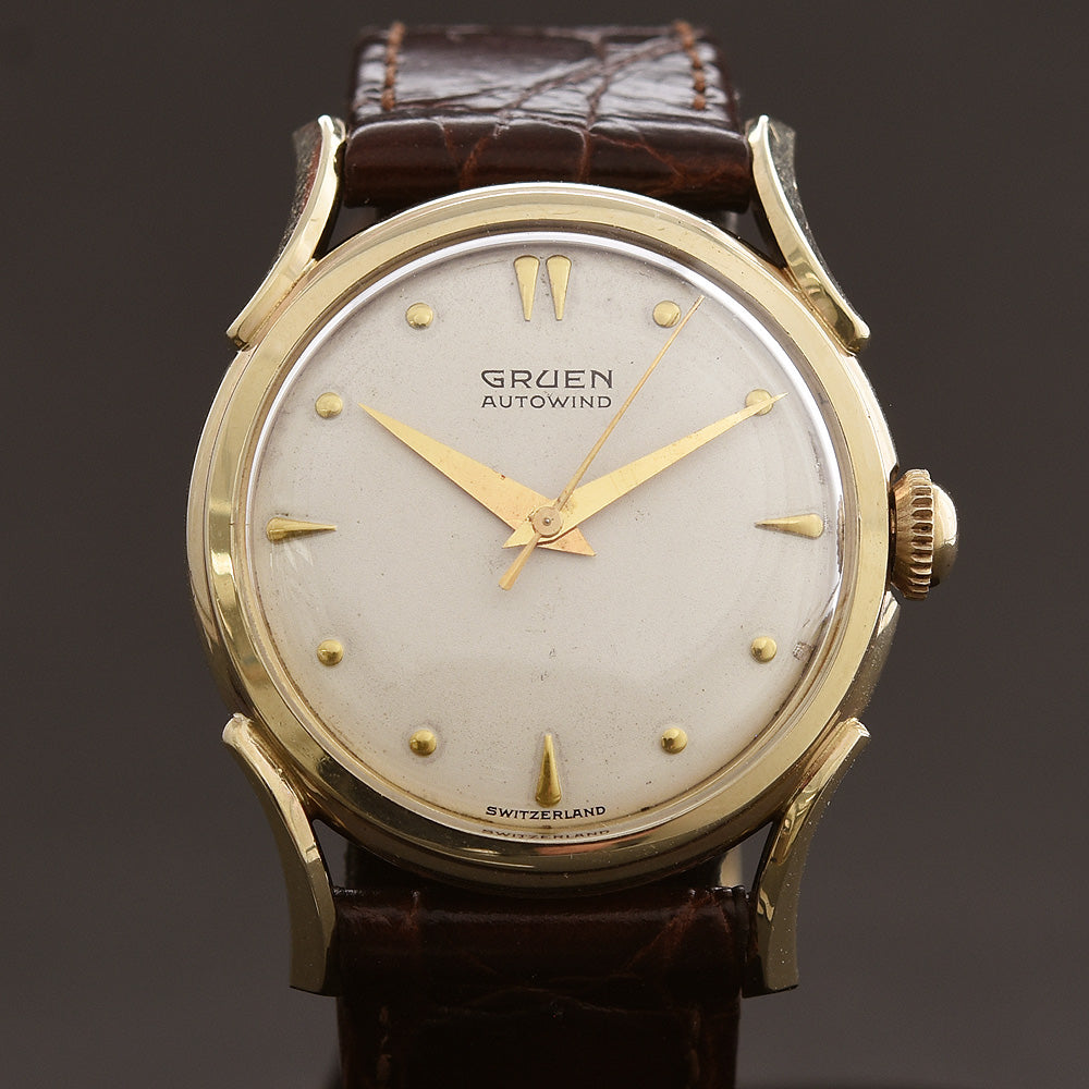 1952 GRUEN 'Autowind' 14K Gold Gents Swiss Watch