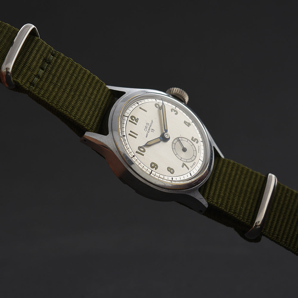 50s ORIS Waterproof 15 Classic Gents Swiss Watch